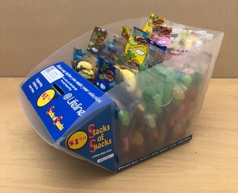 If its a sweet tooth you have then, one of our Lolly boxes full of snack size bags of assorted sweets