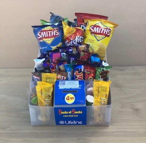 If its range you are looking for, our Multi boxes that contain multiple different Products, ranging from Chocolate, Lollies, Chips and Health products may be for you
